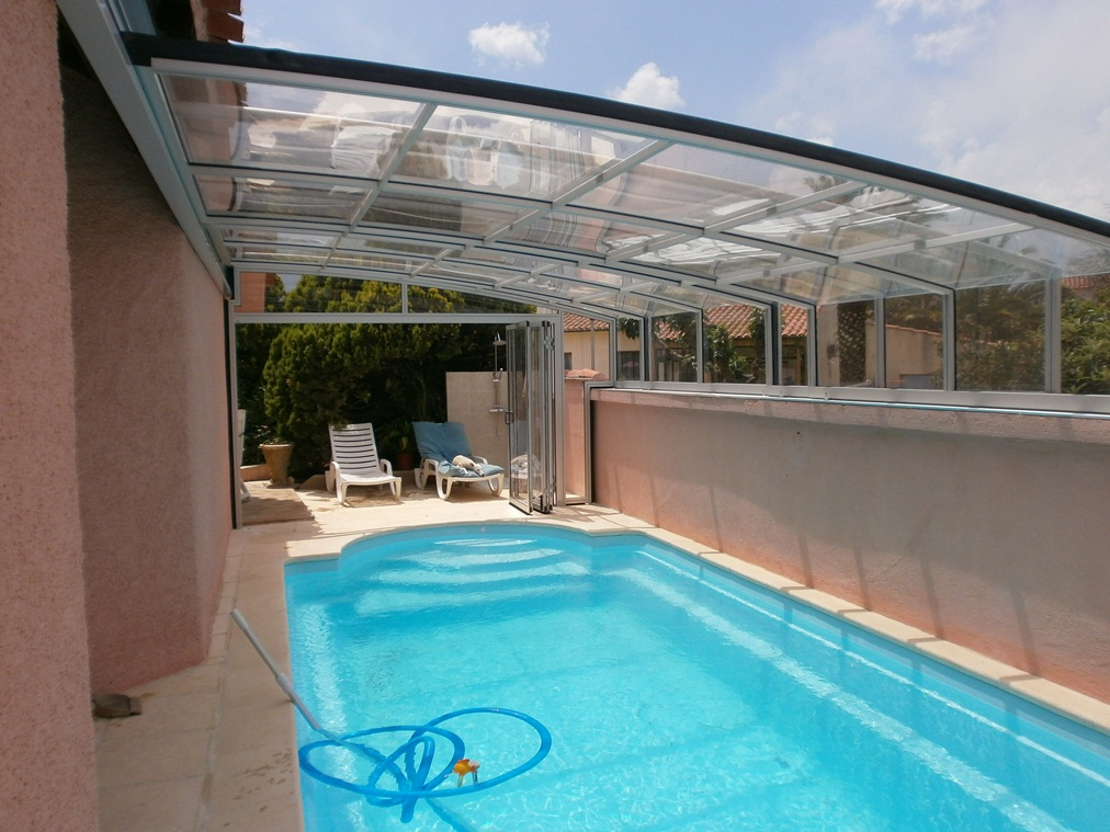 Abris sp ciaux abritello abri piscine spa terrasse for Abri de piscine en plastique