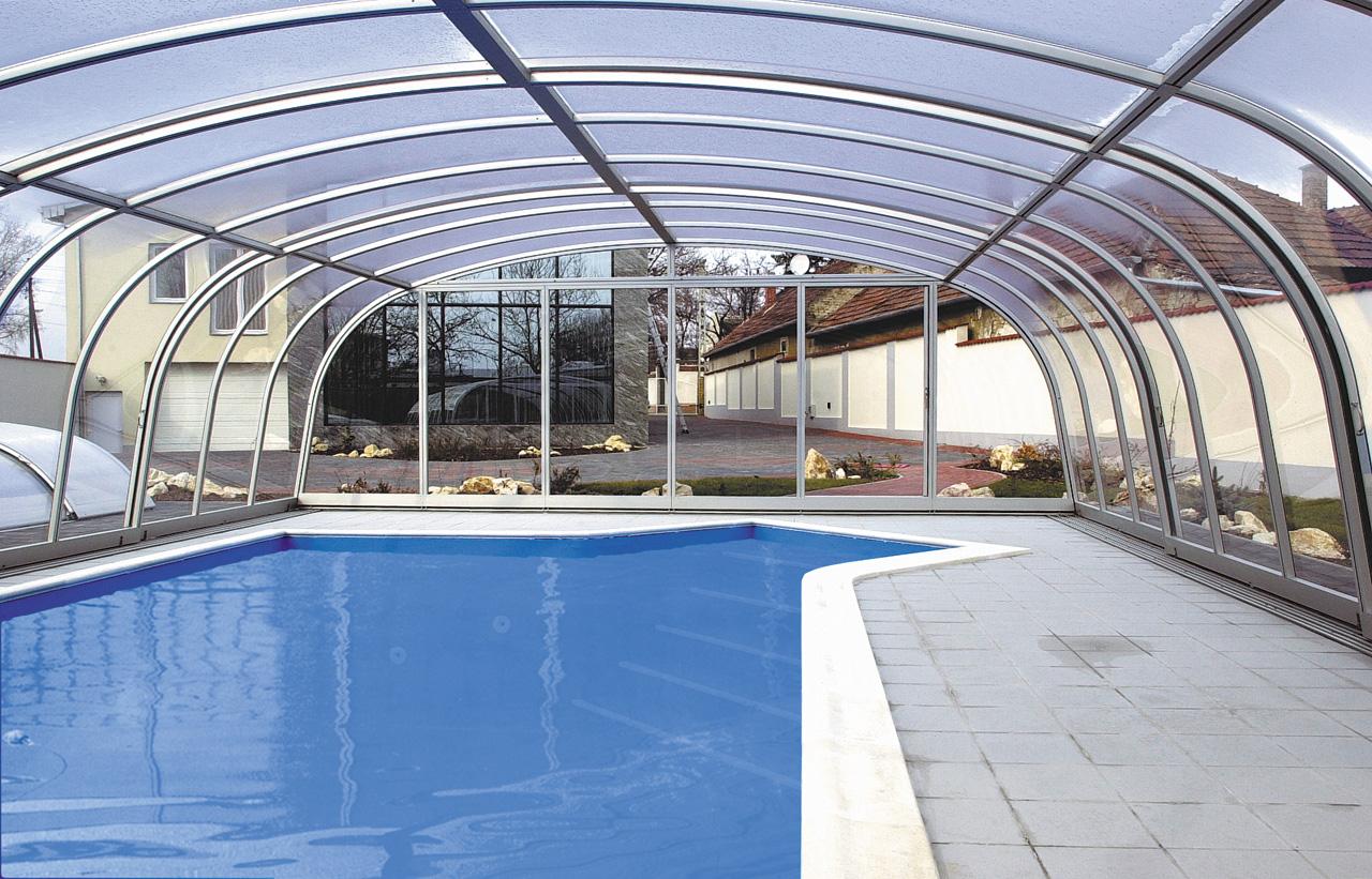 Abritello - abris de piscine HARMONIE
