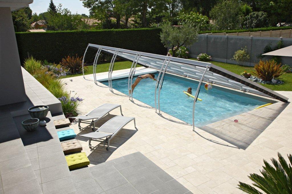 Abritello - abris de piscine prima plat
